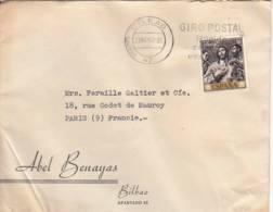 ESPAGNE - 1961 - Lettre Commerciale Pour La France - 1961-70 Brieven