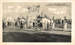 INDIA // INDE.  H.H. THE NIZAM CAMP CORONATION DURBAR DELHI 1911 - India