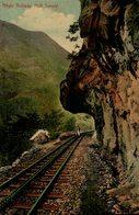 Nilgiri Railway, Half Tunnel. INDIA // INDE. - India