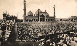 Junia Masjid Delhi. INDIA // INDE. - India