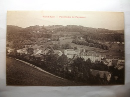 Carte Postale Val D'Ajol (88) Panorama De Faymont  ( Petit Format Oblitérée Timbre 15 Centimes) - Autres Communes