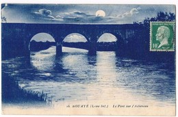 BOUAYE  44  Pont Sur L'Achenau .1924 - Bouaye