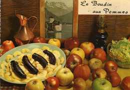 Le Boudin Aux Pommes D' Emilie Bernard - Recette N° 143 - Cliché Appolot Grasse  - Editions Lyna  Paris - Recipes (cooking)