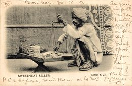 INDIA // INDE.  SWEETMEAT SELLER - India