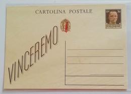 """Cartolina Postale """"vinceremo"""" Non Viaggiata - 4. 1944-45 Repubblica Sociale"""