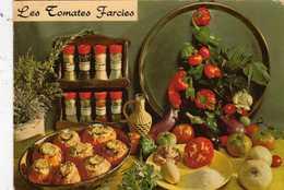 Plantes Et Légumes Les Tomates Farcies D' Emilie Bernard - Recette N° 151 - Cliché Appolot Grasse  - Editions Lyna Paris - Recipes (cooking)