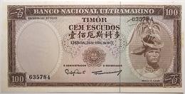 Timor - 100 Escudos - 1963 - PICK 28a.6 - SPL - Timor