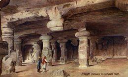 Bombay,Entrance To Elephanta Caves. INDIA // INDE. - India