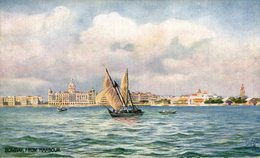 Bombay, From Harbour. INDIA // INDE. - India