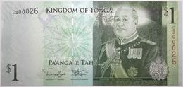 Tonga - 1 Pa'anga - 2009 - PICK 37a.2 - NEUF - Tonga