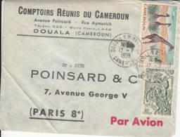 CAMEROUN - 1959 - Lettre Commerciale Par Avion Pour La France - Kameroen (1960-...)