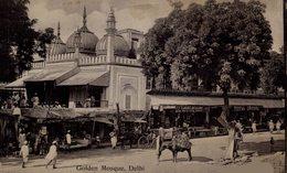 Golden Mosque, Delhi. INDIA // INDE. - India