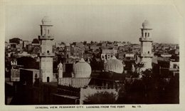 General View, Peshawar City. Looking From The Fort. INDIA // INDE. - India