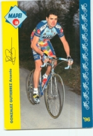 Arsenio GONZALEZ GUTIERREZ . 2 Scans. Mapei GB 1996 - Cycling