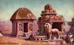 Madras Seven Pagodas. INDIA // INDE. - India