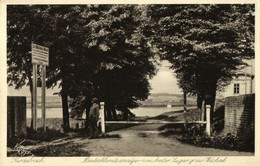 Poland Germany, KURZEBRACK KORZENIEWO, Weichsel Entrance (1920s) West Prussia - Westpreussen