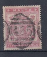 Malta Michel Cat.No. Used 10 (1) - Malta