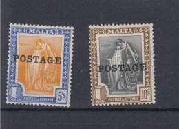 Malta Michel Cat.No.  Vlh/* 113/114 - Malta