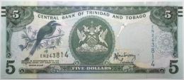 Trinitad Et Tobago - 5 Dollars - 2006 - PICK 47a.1 - NEUF - Trinité & Tobago
