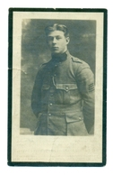 WO1 / WW1 - Doodsprentje Eyckmans Franciscus - Herentals / Stadenberg - Gesneuvelde - Obituary Notices