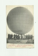 "55 - VERDUN - TOP CP - Ballon "" Bulle De Savon "" Dans Lequel Les Freres Kapferer On Pris Place Pour Aller A Waterloo - Verdun"