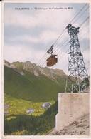 CPA CHAMONIX TELEFERIQUE DE L' AIGUILLE DU MIDI - Chamonix-Mont-Blanc