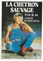 """RENAUD - La Chetron Sauvage, Tour 86 """"A Partir De Dorénavant""""  - Minot Music Pour Humour à La Carte AC 619 - Artistes"""