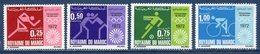 Maroc - YT N° 642 à 645 - Neuf Sans Charnière - 1972 - Morocco (1956-...)