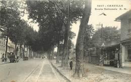 CHAVILLE - Route Nationale, Librairie. - Chaville