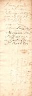 Placet Envoyé Au Subdélégué Sallenave En 1767, Intendant Du Béarn, Pontacq, Réparations De La Route Pau Tarbes - Historische Documenten