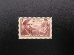 462  Claude Debussy  1940   Neuf, Sans Charnière - Ongebruikt