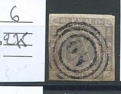 DANEMARK.  N° 6.   Cote 275 €. - 1851-63 (Frederik VII)
