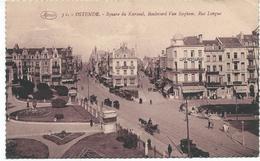 36. OSTENDE. Square Du Kursaal, Boulevard Van Iseghem, Rue Longue - Oostende