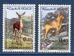 Maroc - YT N° 646 Et 647 - Neuf Sans Charnière - 1972 - Morocco (1956-...)