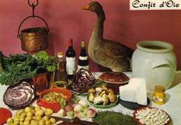 Oiseaux Oie - Confit D'oie D' Emilie Bernard - Recette N° 187 - Cliché Appolot Grasse  - Editions Lyna Paris - Recipes (cooking)