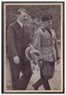 """DT- Reich (008380) Propaganda Sammelbild Adolf Hitler"""""""" Bild 66, Begegnung Adolf Hitler Mit Mussolini In Venedig 1934 - Deutschland"""