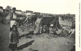 Grèce - Incendie De Salonique - Un Campement De Tziganes - D 1361 - Grecia
