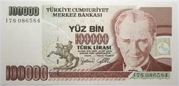 Turquie - 100000 Livres Turques - 1997 - PICK 206 - NEUF - Turkije