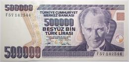 Turquie - 500000 Livres Turques - 1994 - PICK 208c - NEUF - Turkije