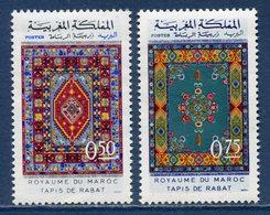 Maroc - YT N° 650 Et 651 - Neuf Sans Charnière - 1972 - Morocco (1956-...)