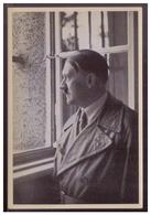"""DT- Reich (008390) Propaganda Sammelbild Adolf Hitler"""""""" Bild 196, Besuch Des Führers Nach 10 Jahren. Am Fenster - Deutschland"""