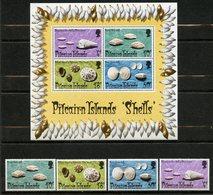 Pitcairn, Yvert YT 135/138**+BF1**, Scott 137/140**+140a**, MNH - Timbres