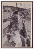 """DT- Reich (008395) Propaganda Sammelbild Adolf Hitler"""" Bild 47, Tage Der Ruhe. Der Führer Und Die Kleine Helga Goebbels - Deutschland"""