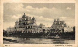 Chuttermanzil, Lucknow. INDIA // INDE. - India