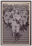 """DT-Reich (008398) Propaganda Sammelbild Adolf Hitler"""" Bild 179, Reichsparteitag 1935, Beim Arbeitsdienst Auf Der Zeppeli - Deutschland"""