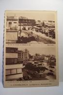 CASABLANCA  - AUTREFOIS & AUJOURD'HUI  - Un Coin De La Place De France - Casablanca