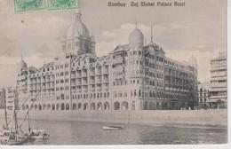 Bombay, Taj Mahal Palace Hotel. INDIA // INDE. - India