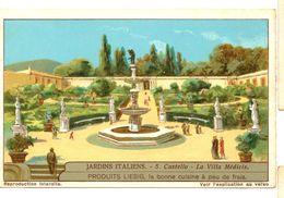"S1240- CHROMO LIEBIG - 1930 -  "" JARDINS ITALIENS "" : 5. CASTELLO - Liebig"
