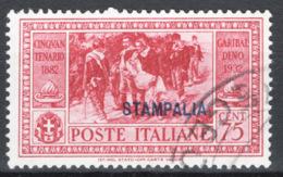 Egeo Stampalia 1932 Sass.22 O/Used VF/F - Ägäis (Stampalia)