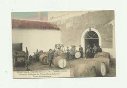 ESPAGNE - TOMELLOSO - MARTINEZ HERMANOS Y Cia Bodegas Vinos Finos Del Pais Patio De Embarque Animé Bon état - Espagne